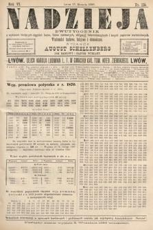 Nadzieja : dwutygodnik zwykazem bieżących ciągnień losów, listów zastawnych, obligacyj indemnizacyjnych innych papierów wartościowych : wiadomości bankowe, kolejowe, ekonomiczne. 1890, nr118