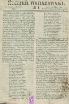 Kurjer Warszawski. 1847, № 1 (1 stycznia)