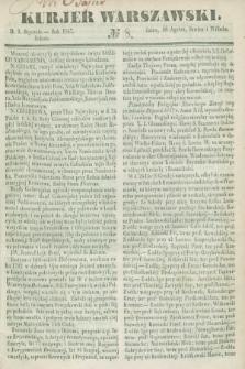 Kurjer Warszawski. 1847, № 8 (9 stycznia)