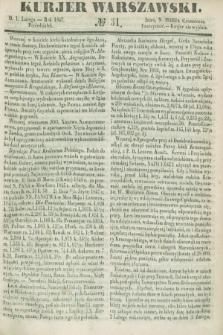 Kurjer Warszawski. 1847, № 31 (1 lutego)