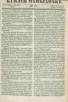 Kurjer Warszawski. 1847, № 35 (6 lutego)