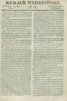 Kurjer Warszawski. 1847, № 83 (27 marca)