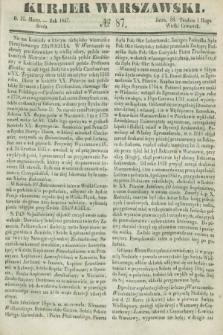 Kurjer Warszawski. 1847, № 87 (31 marca)