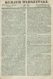 Kurjer Warszawski. 1847, № 93 (8 kwietnia)