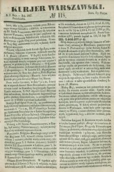 Kurjer Warszawski. 1847, № 118 (3 maja)