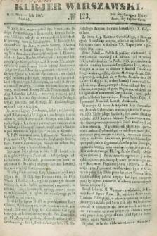 Kurjer Warszawski. 1847, № 123 (9 maja)