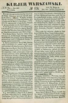 Kurjer Warszawski. 1847, № 124 (10 maja)