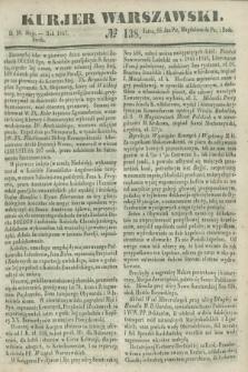 Kurjer Warszawski. 1847, № 138 (26 maja)