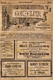 Gorzelnik : czasopismo poświęcone przemysłowi gorzelniczemu : organ Towarzystwa Gorzelników Polskich we Lwowie. 1897, nr1