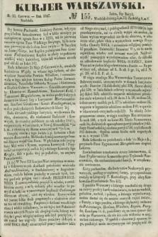 Kurjer Warszawski. 1847, № 155 (13 czerwca)