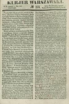 Kurjer Warszawski. 1847, № 224 (23 sierpnia)