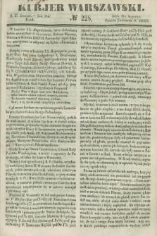 Kurjer Warszawski. 1847, № 228 (27 sierpnia)