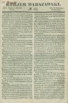 Kurjer Warszawski. 1847, № 252 (21 września)