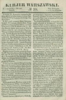 Kurjer Warszawski. 1847, № 268 (7 października)