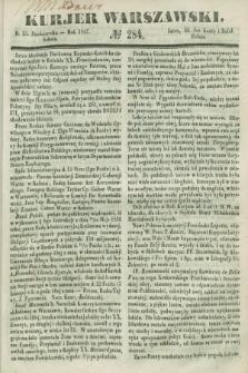 Kurjer Warszawski. 1847, № 284 (23 października)