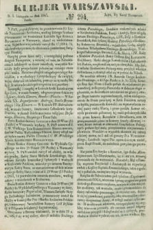 Kurjer Warszawski. 1847, № 294 (3 listopada)