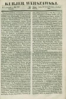 Kurjer Warszawski. 1847, № 298 (7 listopada)