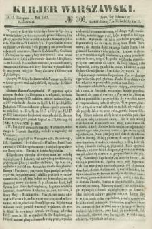 Kurjer Warszawski. 1847, № 306 (15 listopada)