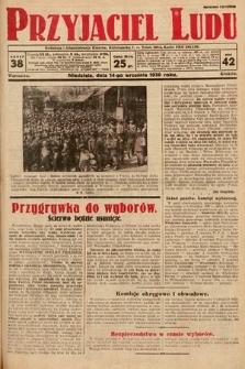 Przyjaciel Ludu. 1930, nr38