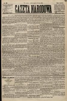 Gazeta Narodowa. 1888, nr87