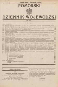 Pomorski Dziennik Wojewódzki. 1929, nr31