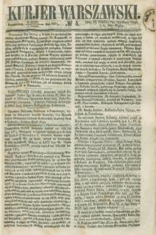 Kurjer Warszawski. 1858, № 4 (4 stycznia)
