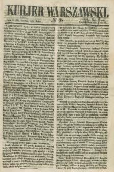 Kurjer Warszawski. 1858, № 28 (30 stycznia)