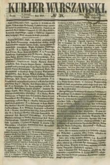 Kurjer Warszawski. 1858, № 38 (10 lutego)