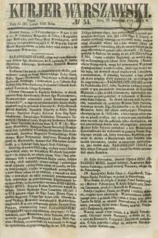 Kurjer Warszawski. 1858, № 54 (26 lutego)