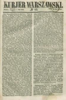 Kurjer Warszawski. 1858, № 63 (7 marca)