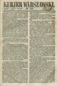 Kurjer Warszawski. 1858, № 122 (9 maja)