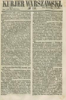 Kurjer Warszawski. 1858, № 131 (19 maja)