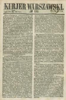 Kurjer Warszawski. 1858, № 133 (21 maja)