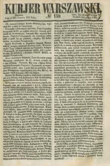 Kurjer Warszawski. 1858, № 159 (20 czerwca)