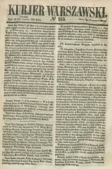 Kurjer Warszawski. 1858, № 163 (24 czerwca)