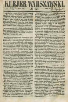 Kurjer Warszawski. 1858, № 171 (3 lipca)