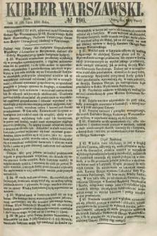 Kurjer Warszawski. 1858, № 196 (28 lipca)