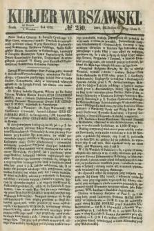 Kurjer Warszawski. 1858, № 230 (1 września)
