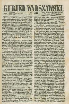 Kurjer Warszawski. 1858, № 238 (10 września)
