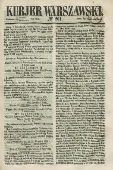 Kurjer Warszawski. 1858, № 261 (3 października)