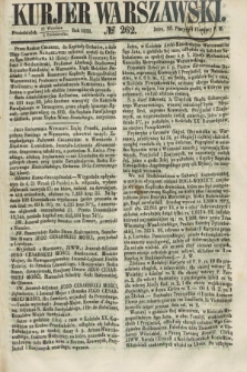 Kurjer Warszawski. 1858, № 262 (4 października)