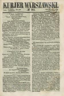 Kurjer Warszawski. 1858, № 264 (6 października)
