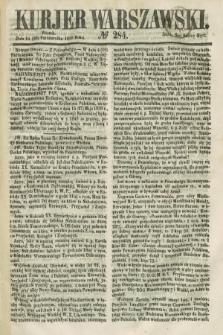 Kurjer Warszawski. 1858, № 284 (26 października)
