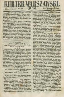 Kurjer Warszawski. 1858, № 294 (6 listopada)