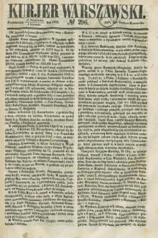 Kurjer Warszawski. 1858, № 296 (8 listopada)