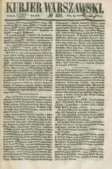 Kurjer Warszawski. 1858, № 320 (2 grudnia)