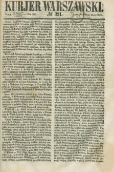 Kurjer Warszawski. 1858, № 321 (3 grudnia)