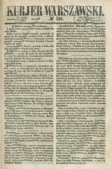 Kurjer Warszawski. 1858, № 326 (9 grudnia)