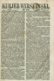 Kurjer Warszawski. 1858, № 336 (19 grudnia)