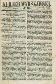 Kurjer Warszawski. 1858, № 343 (28 grudnia)